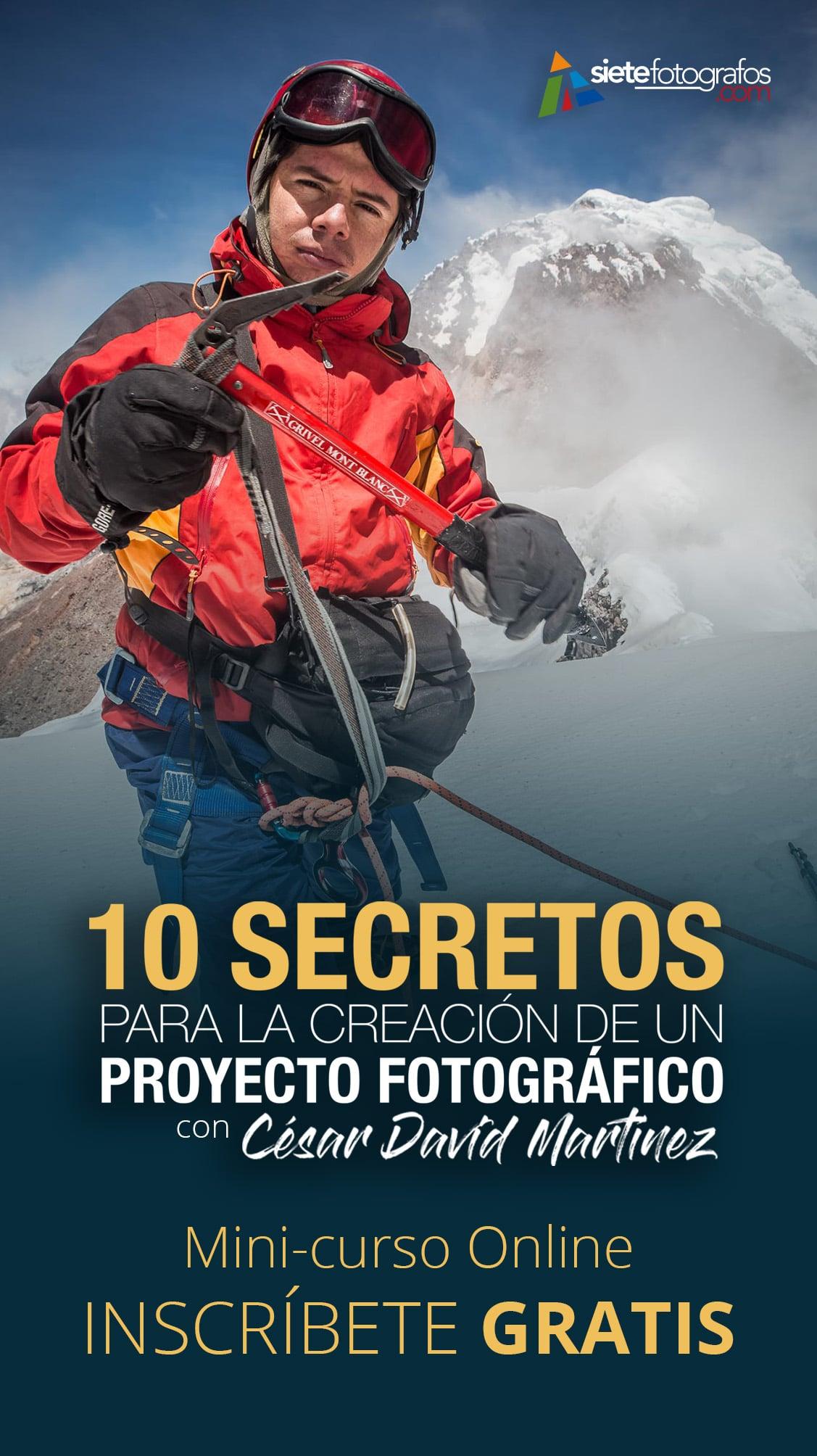 curso gratis 10 secretos creacion proyecto fotografico cesar david martinez